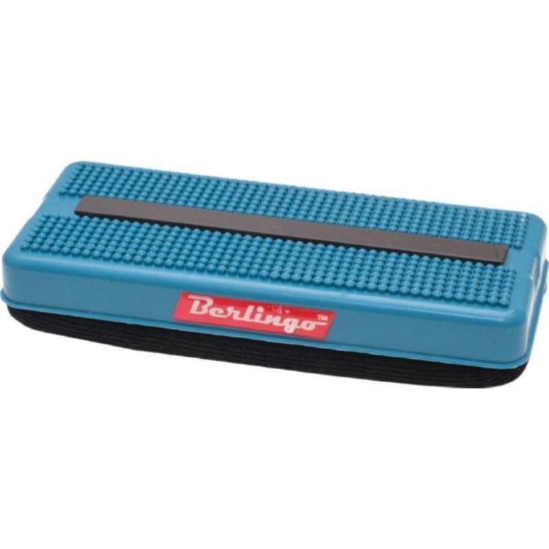 Губка стиратель для маркерной доски Berlingo 67х147мм магнитный