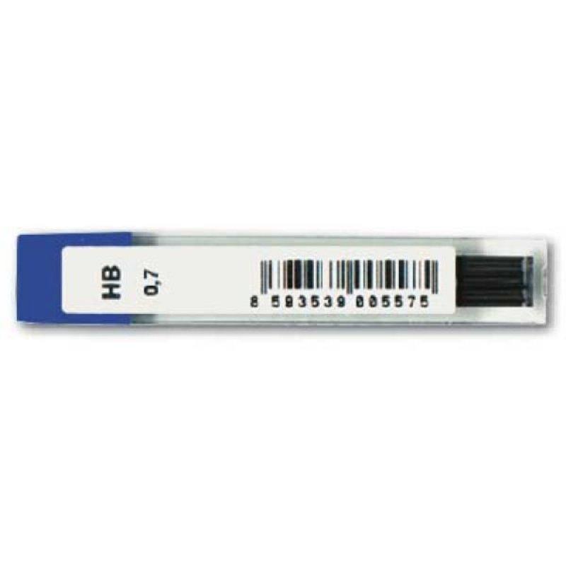 Грифель для мех карандаша 0,7мм Koh-I-Noor HB 12шт/уп