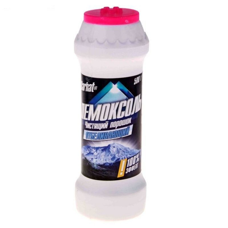Чистящее средство Бархат Пемоксоль 500г отбеливающий эффект