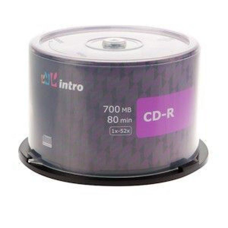Диск CD-R 700Mb 52х Cake туба 50шт