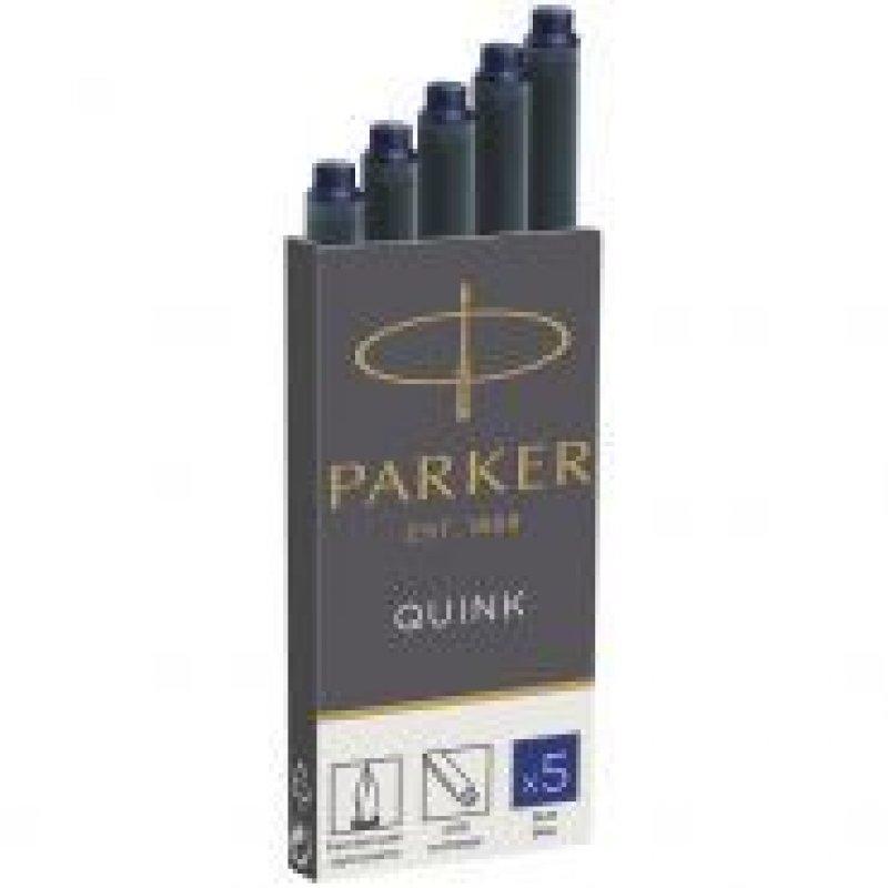 Картридж чернильный Parker 5шт/уп синие