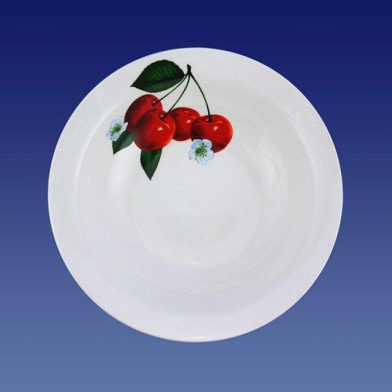 Тарелка 175мм Вишенка мелкая керамика