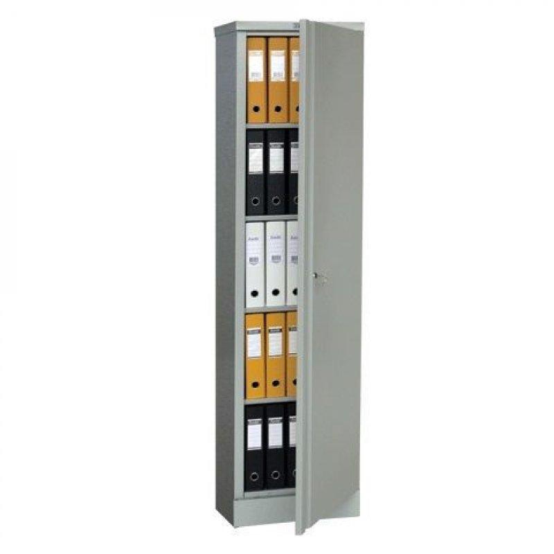 Шкаф металлический для документов 1 отделение Практик AM-1845 1830х472х458мм 30кг