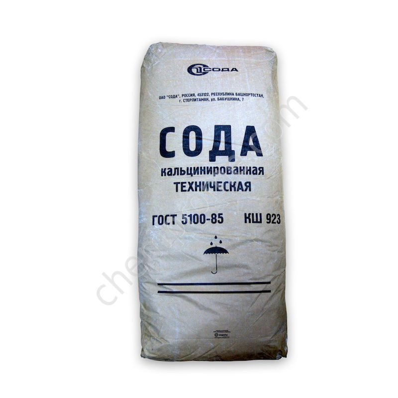 Сода кальцинированная 50кг ГОСТ5100-85