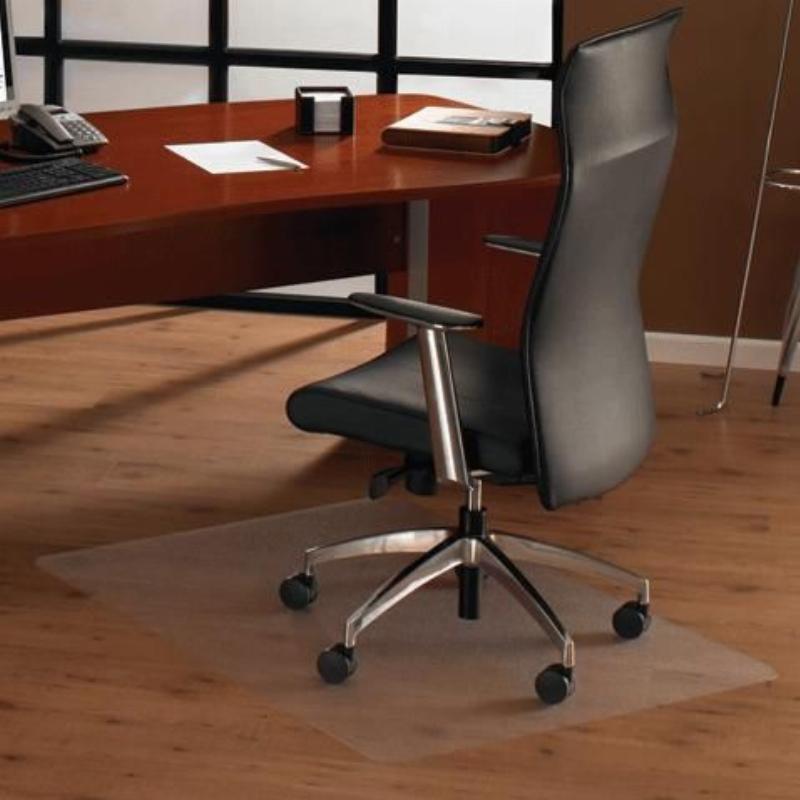 Коврик защитный для твердых покрытий износостойкий 92х92 см Floortex