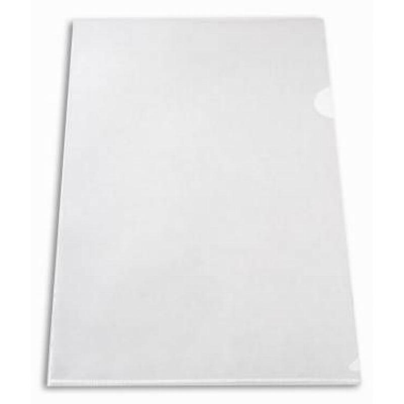Папка-угол (карман) Бюрократ 0,15мм прозрачная бесцветная