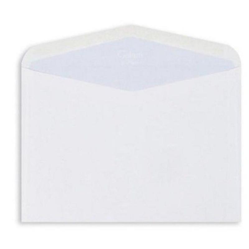 Конверт С4 (229х324мм) белый декстрин 90г/м2 треугольный клапан