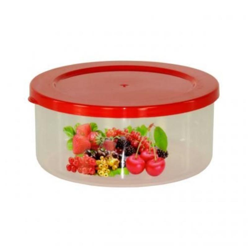 Контейнер для СВЧ 0,7л Смак Ягоды пластик