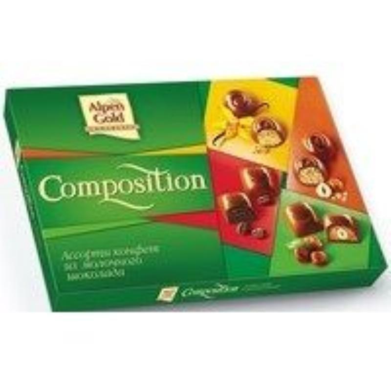 Набор конфет Alpen Gold Composition ассорти 204г
