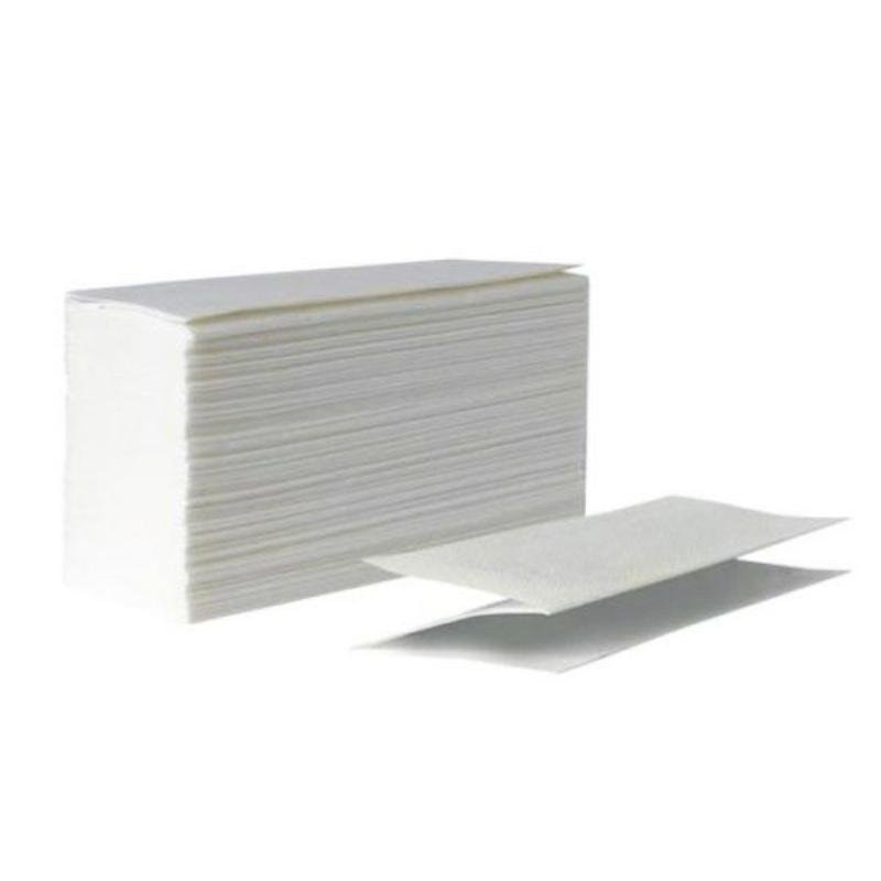 Полотенце бумажное Almax Plushe Professional 2-сл Z-слож 210х230мм 200л белое