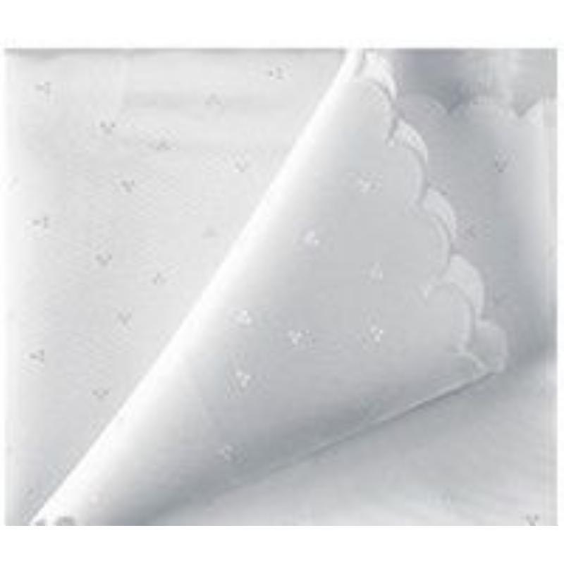 Скатерть 150х182см Белый снег с тефл. покрытием