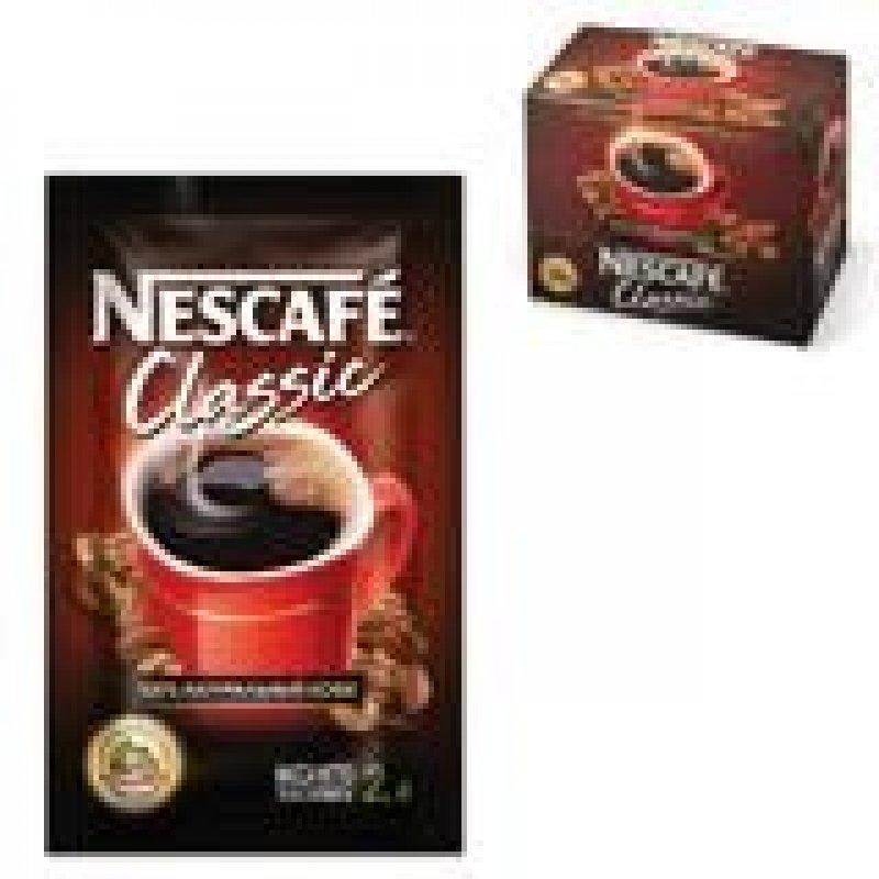 Кофе Nescafe Classic растворимый 2г 30шт/уп мягкая упаковка