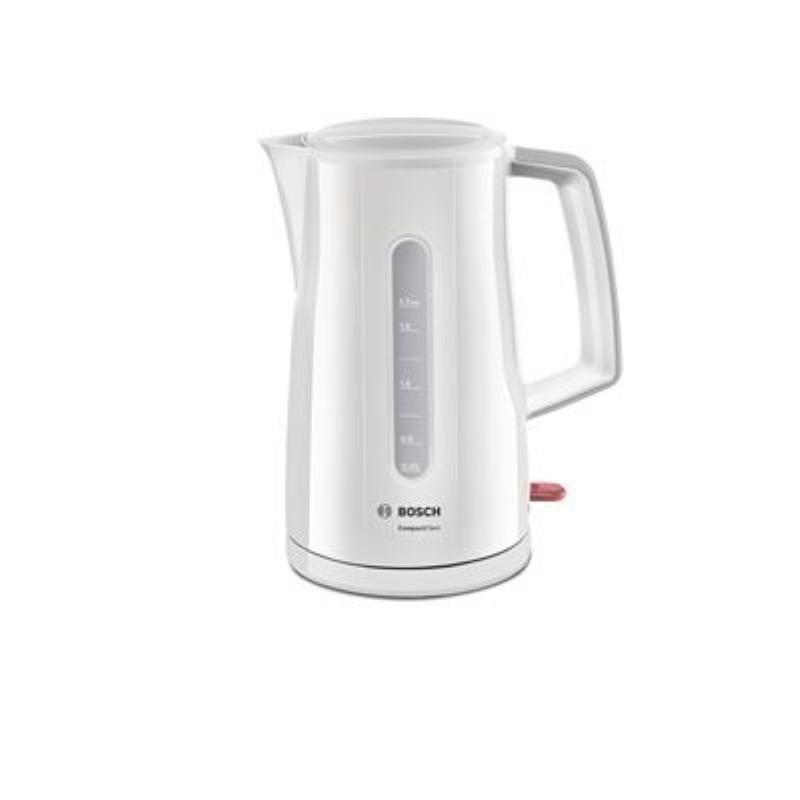Чайник Bosch TWK 3A011 2400Вт 1,7л пластик белый