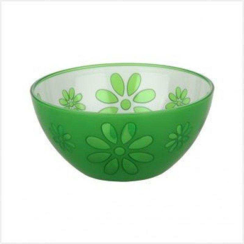 Салатник 0,5л Соблазн зеленый пластик