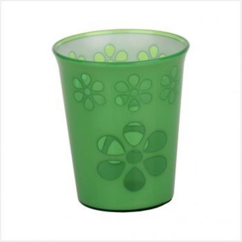 Стакан 0,2л Соблазн зеленый пластик