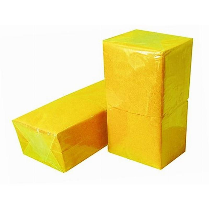 Салфетки 400л Almax Биг Пак 24х24см 1сл желтые