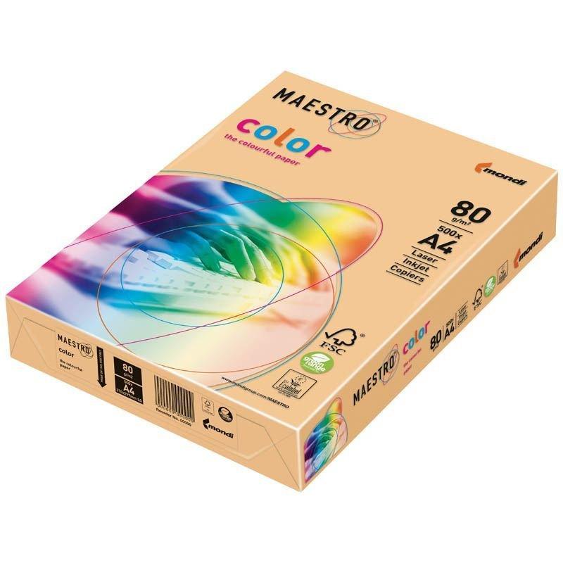 Бумага IQ/Maestro Color А4 80г/м2 100л кремовая