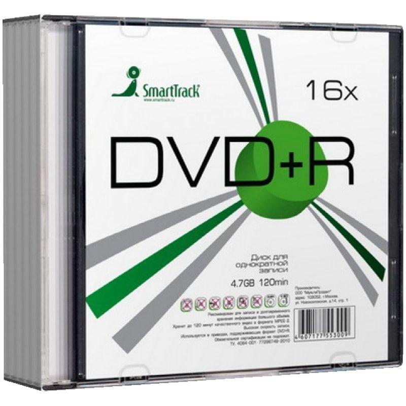 Диск DVD-R Smart Track 4.7Gb 16x Slim