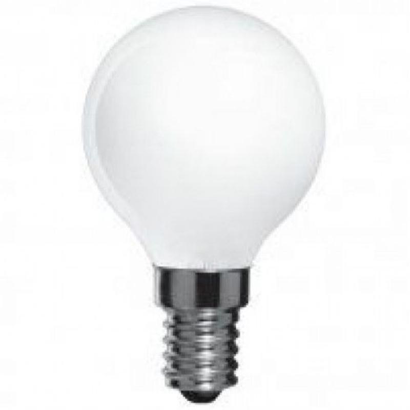 Лампа накаливания 60Вт Е14 шарообразная матовая