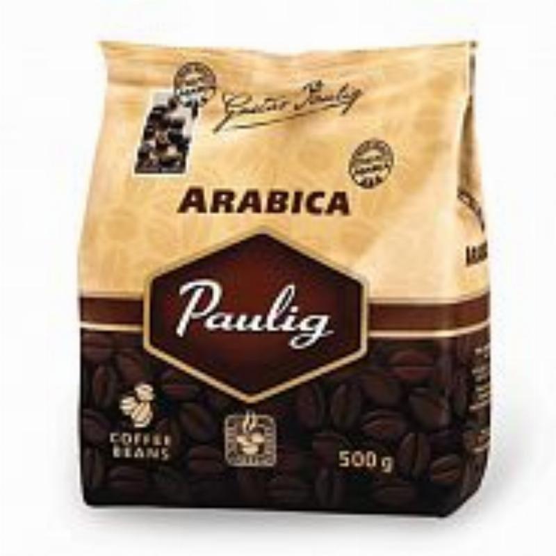 Кофе Pаulig Арабика в зернах 500г мягкая упаковка