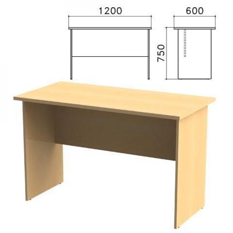 Стол письменный Канц 1200х600х750мм бук