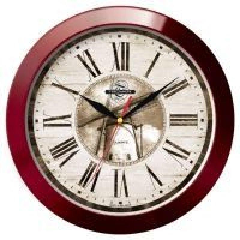 Часы настенные В-Тройка 11131147 круг мельница 290мм