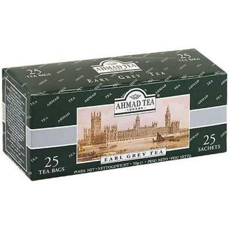 Чай Ahmad Earl Grey 25шт в пакетиках черный с ароматом бергамота