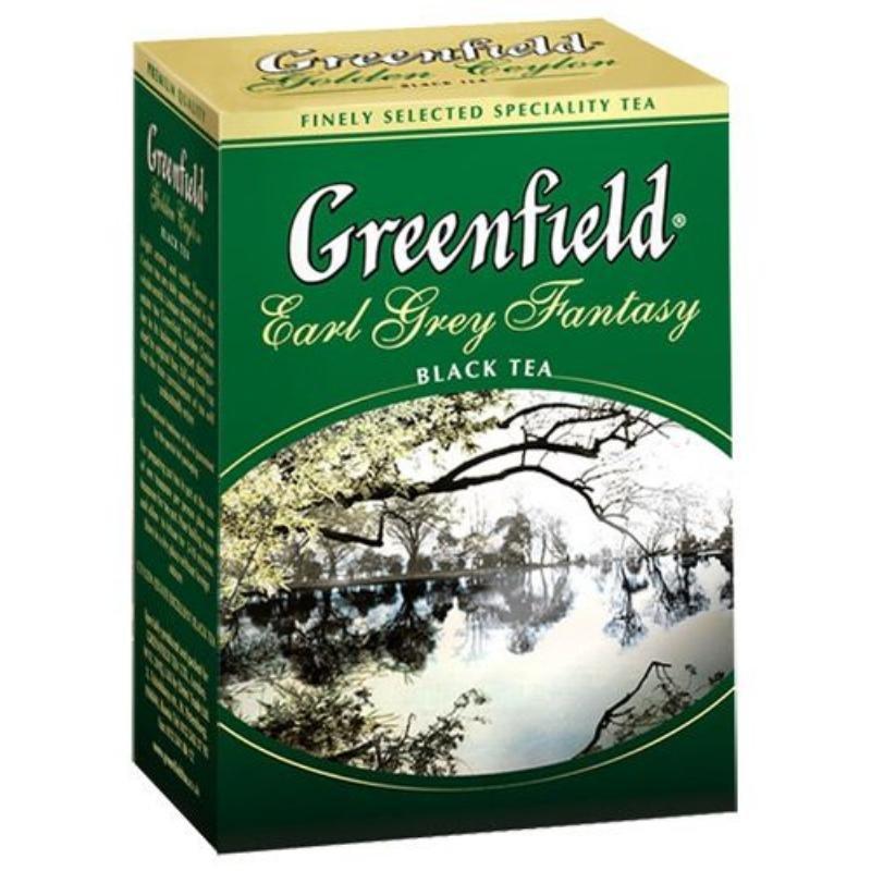 Чай Greenfield Earl Grey 100г листовой черный