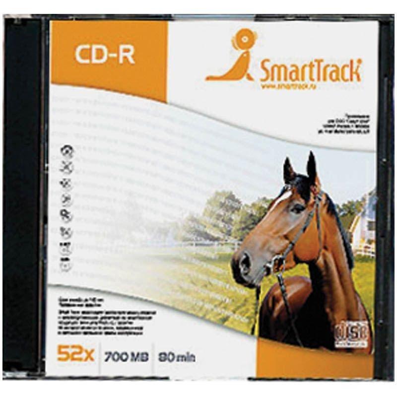 Диск CD-R 700Mb 52х Smart Track Slim