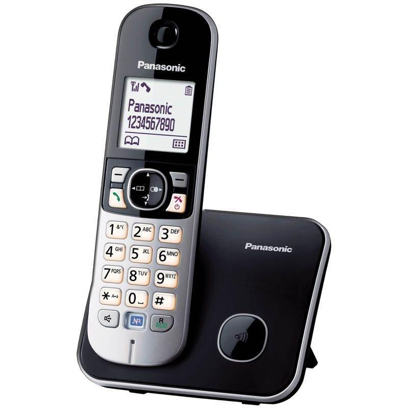 Радиотелефон Panasonic KX-TG6811RUB чёрно-серый АОН 50 номеров полифония спикер