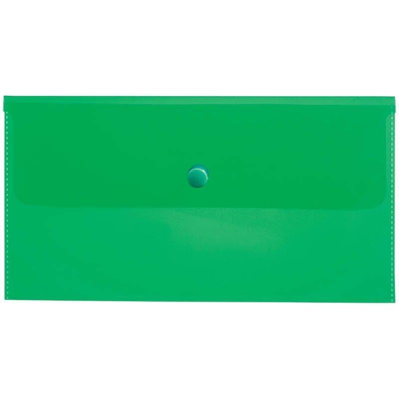 Папка-конверт с кнопкой С6 Berlingo 0,18мм ассорти