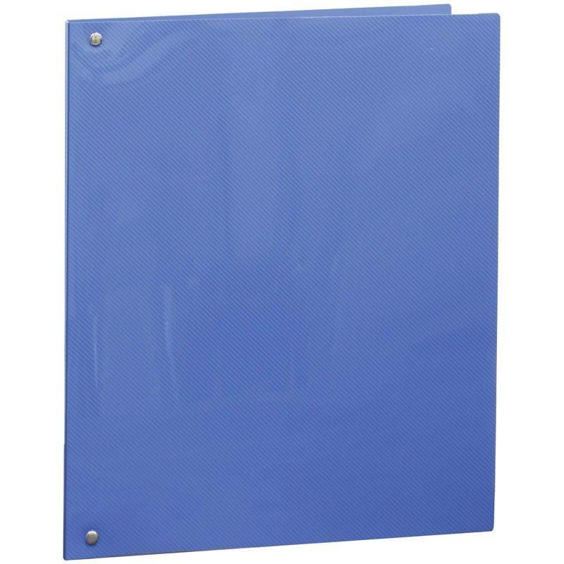 Папка на 4-х кольцах 25мм Berlingo Line синяя 0,5мм