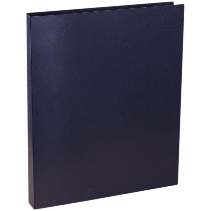 Папка на 2-х кольцах 25мм OfficeSpace черная 0,5мм