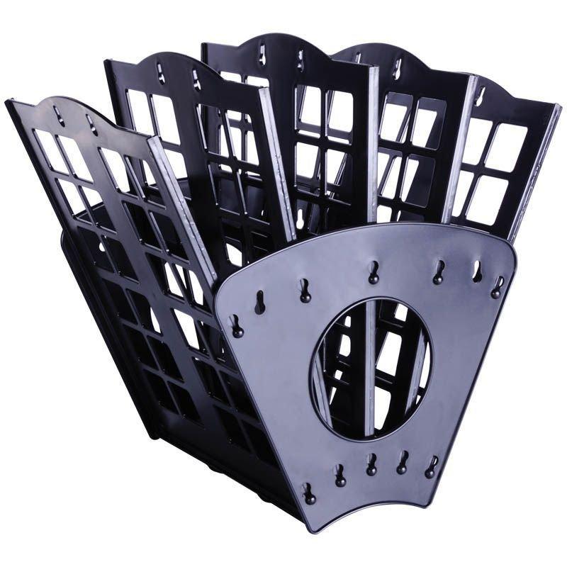 Поддон 5-секционный веер Berlingo черный