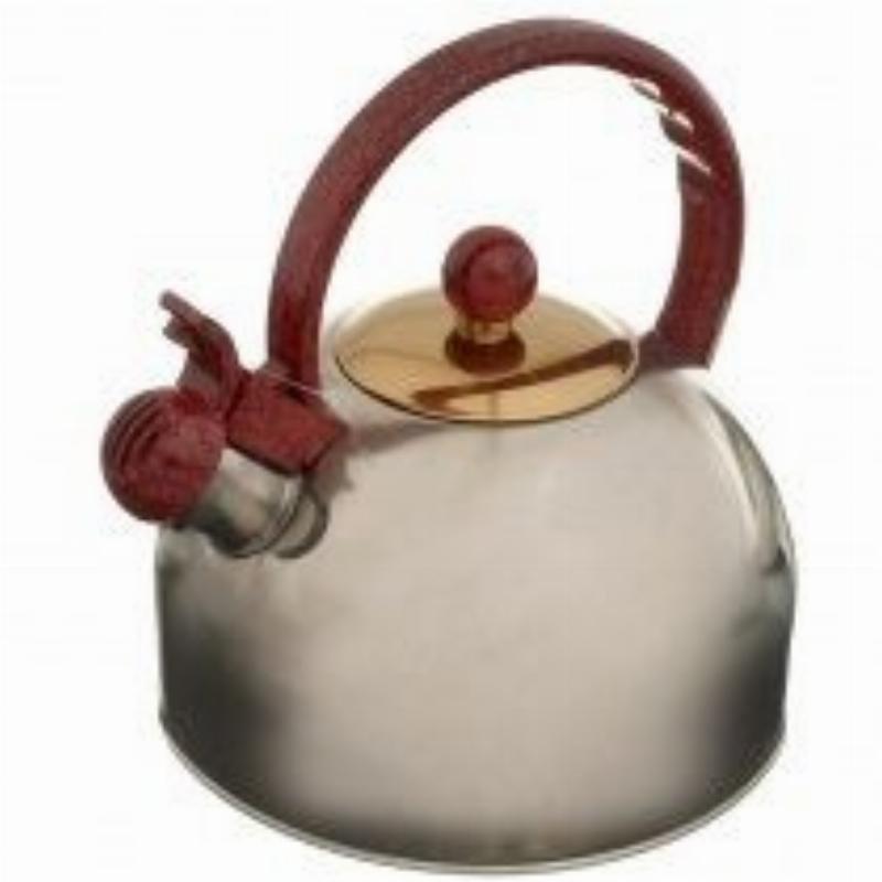 Чайник 3л Webber со свистком нерж
