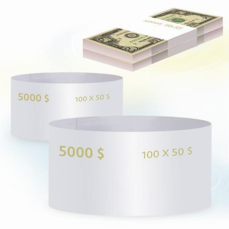 Кольцо бандерольное 50 долларов 500шт/уп