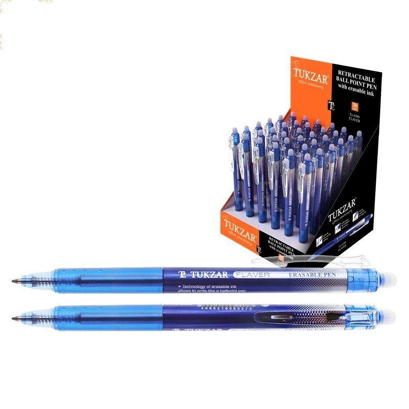 Ручка шариковая автомат Tukzar Flaver 0,7мм тонированный корпус синяя