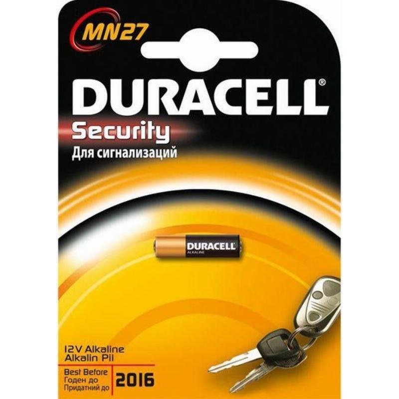 Батарейка Duracell MN27 (1шт в блистере)