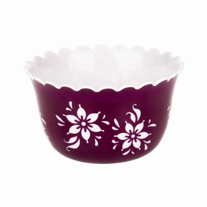 Салатник 1л Премьера фиолетовый пластик