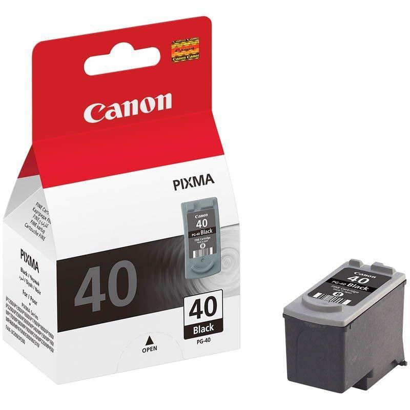 Картридж для Canon Pixma iP1200/1300/1600/1700/1800/2200/2500 PG-40 черный ориг