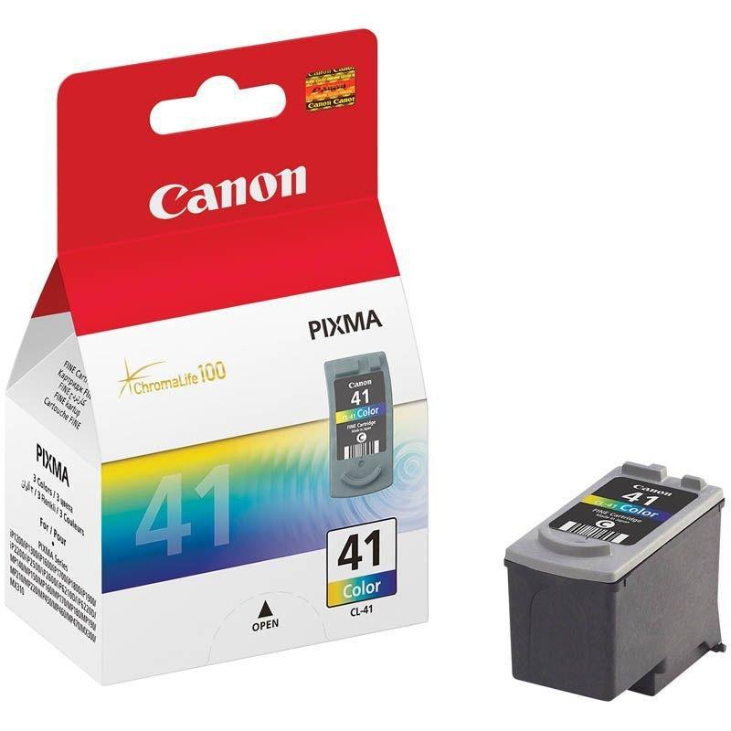 Картридж для Canon Pixma iP1200/1300/1600/1700/1800/1900/2200 CL-41 цветной ориг