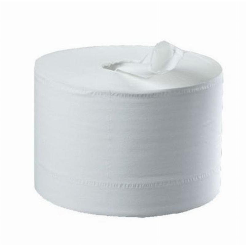 Полотенце бумажное Almax Professional 2-сл с центральной вытяжкой 150м белое