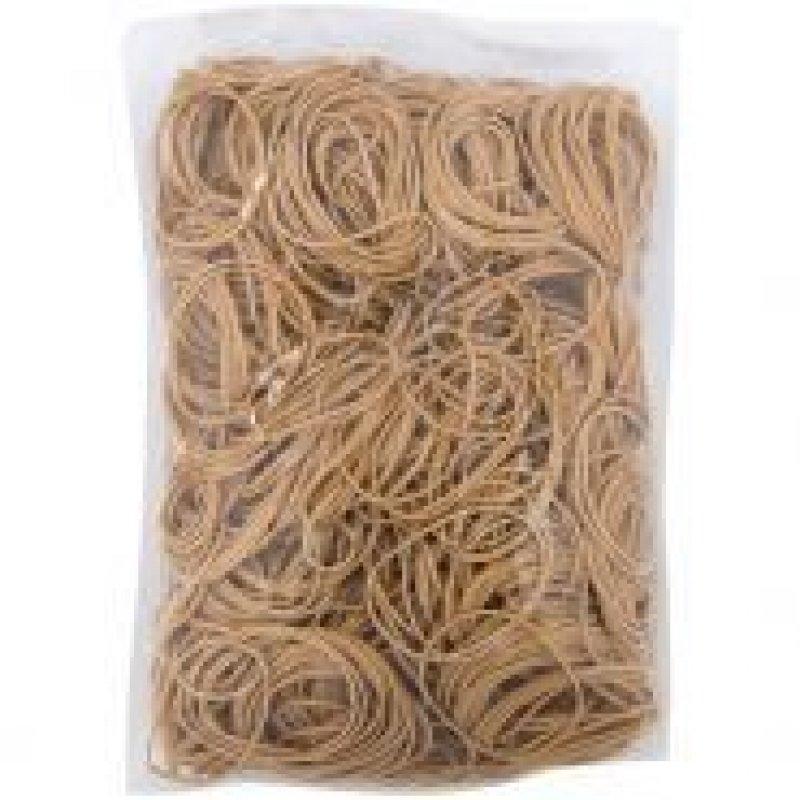 Резинка для денег 1кг d-60мм (1800 шт) натур.каучук цвет натуральный