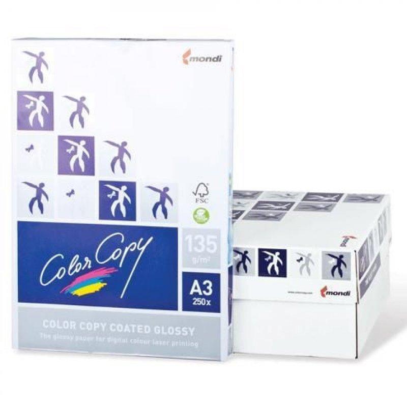 Бумага Color Copy Glossy A3 135г/м 138% ISO 250л