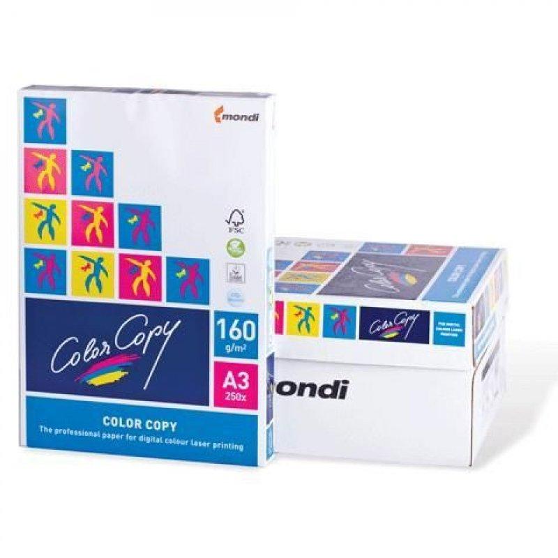 Бумага Color Copy A3 160г/м2 161% ISO 250л