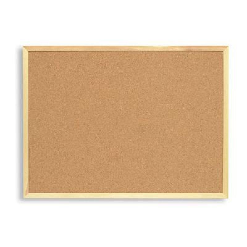 Доска пробковая 100х150см деревянная рамка
