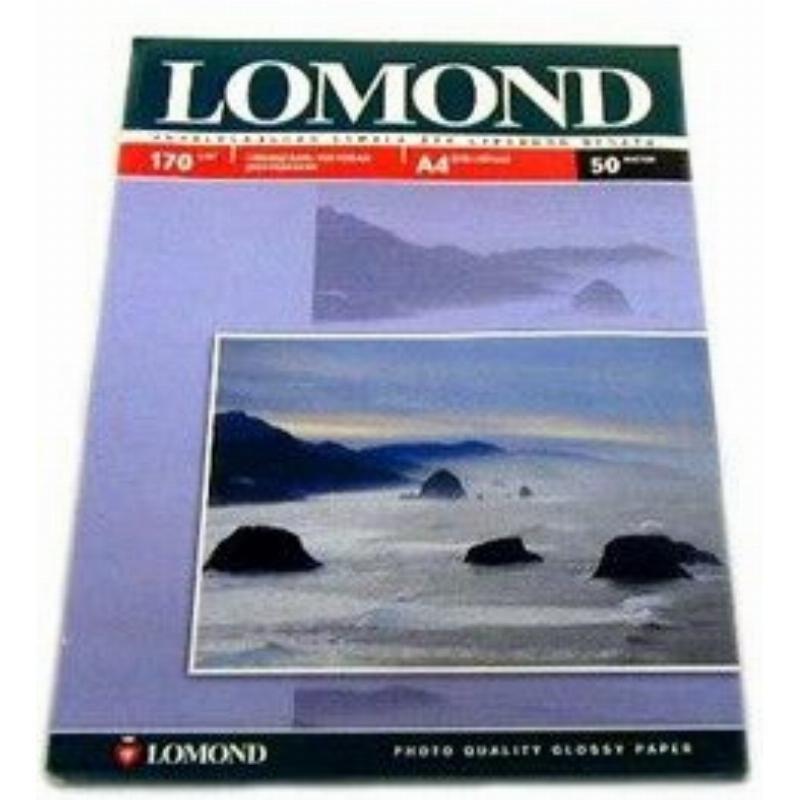 Фотобумага Lomond А4 170г/м2 100л двухсторонняя матовая