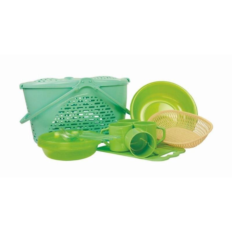 Набор для пикника №2 Семейный отдых 4 персоны пластик
