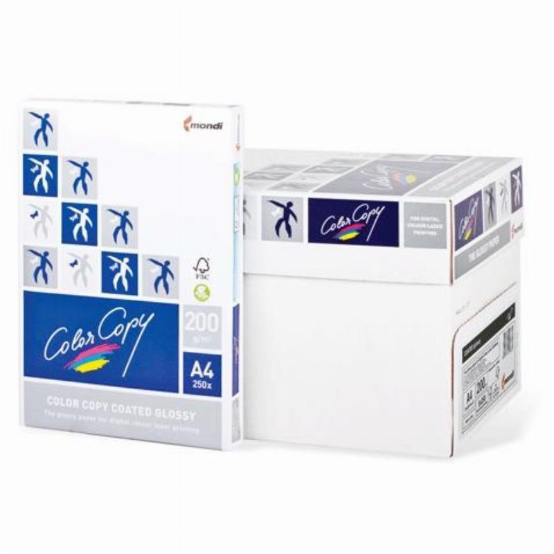 Бумага Color Copy Glossy A4 200г/м2 138% ISO 250л