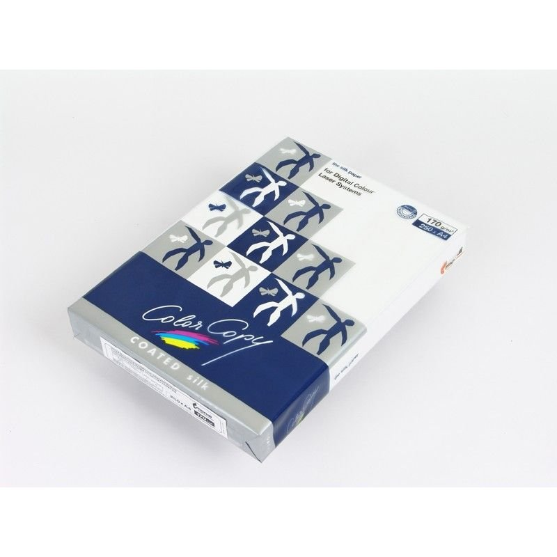 Бумага Color Copy Coated Silk A4 170г/м2 141% ISO 250л